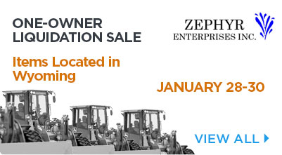 ZEPHYR Enterprises Inc. Equipment
