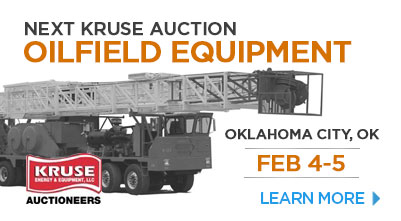 Energy and Equipment.Onsite Auction by Kruse Energy on February 4th & 5th