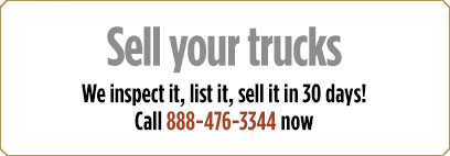 Sell your trucks on 30 days!