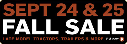 Truck Fall Sale - Late Model Tractors, Trailers and More
