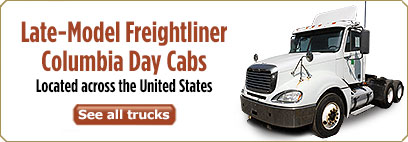 Late-Model Freightliner Day Cabs for Sale