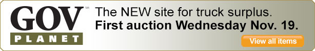 GovPlanet - The NEW site for surplus equipment. First auction Wednesday November 19