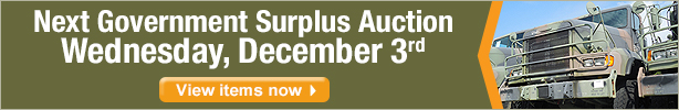 Next Government Surplus Auction