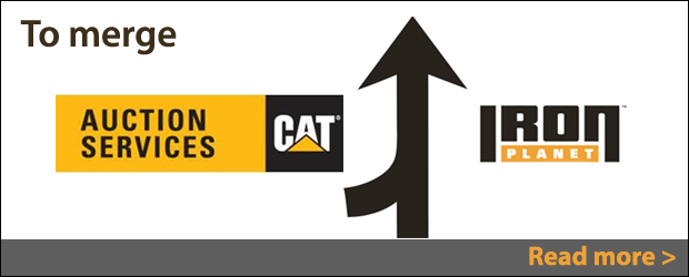 IronPlanet & Cat Auction Services to merge