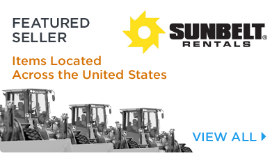 Sunbelt Equipment Located Across the United States