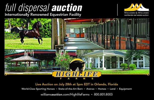 Highlife Farms Full Dispersal Auction