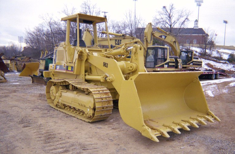 1993 Cat 963 Crawler Loader in Salem, Virginia, United