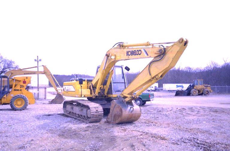 1998 Kobelco SK150 Mark IV Track Excavator