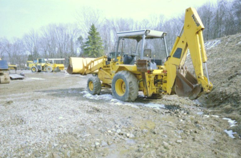 1988 JCB 1400B Backhoe Loader in Richfield, Ohio, United
