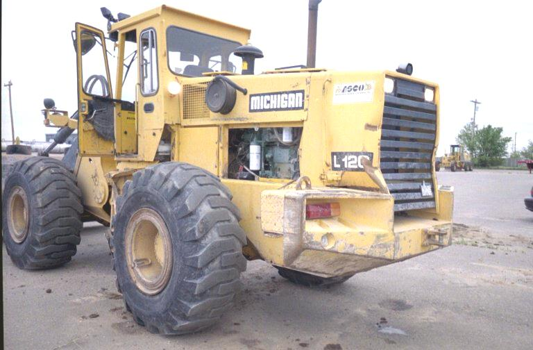 1991 Volvo L120 Wheel Loader in Garden City, Kansas, United