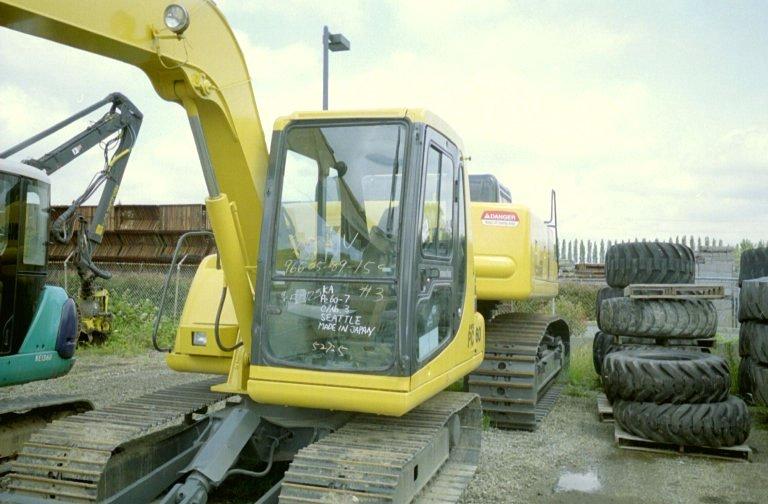 1996 Komatsu PC60-7B Track Excavator