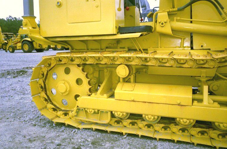 1993 Komatsu D21A-7 Crawler Dozer