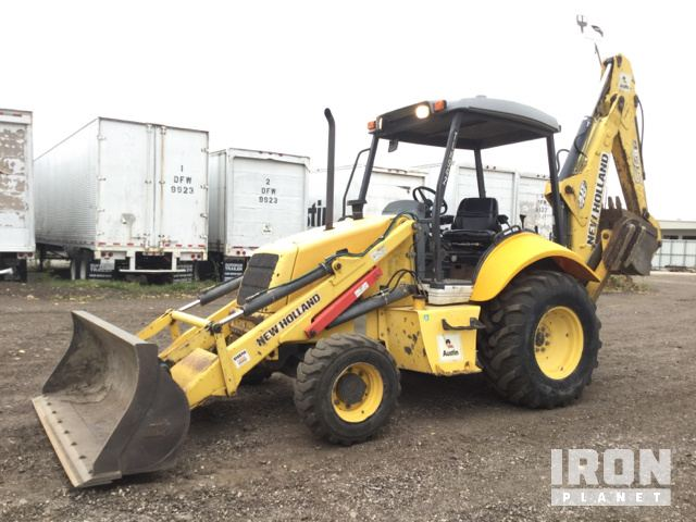 2007 new holland b95 4x4 backhoe loader in irving texas united rh ironplanet com new holland b95 operator's manual new holland nh 95 manual