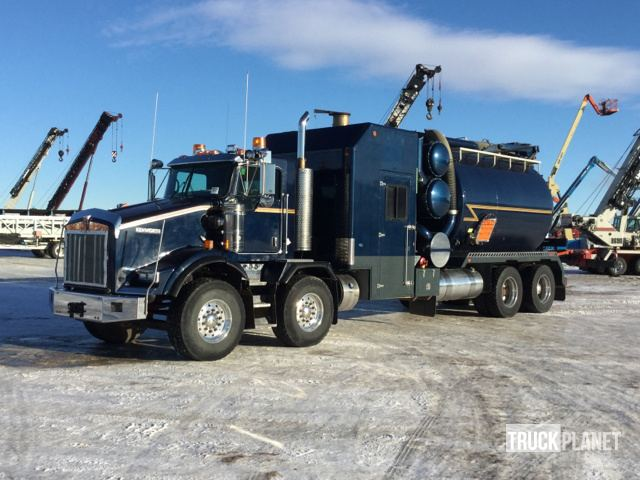2012 Kenworth T800 T A T A Hydro Vac Truck In Nisku