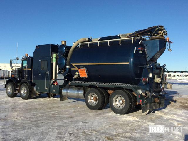 2012 Kenworth T800 T/A - T/A Hydro Vac Truck in Nisku