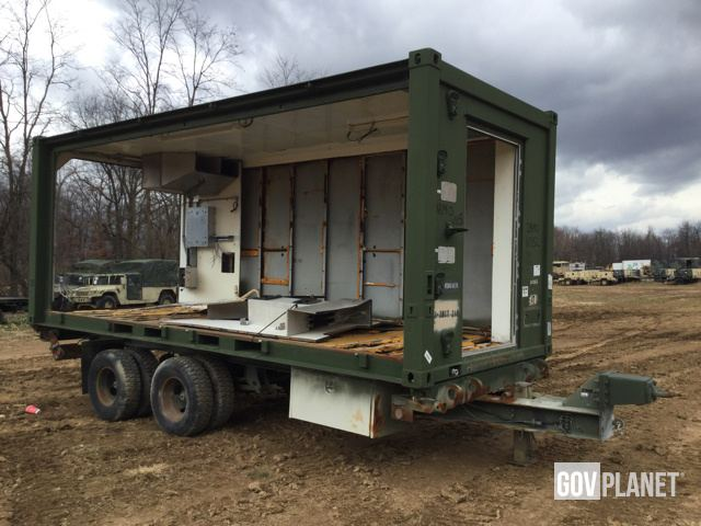 Surplus SFA Frederick Containerized Kitchen Trailer in Chambersburg