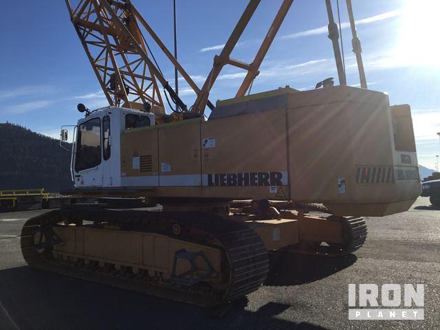 1998 Liebherr LR853HD Litronic Lattice-Boom Crawler Crane in