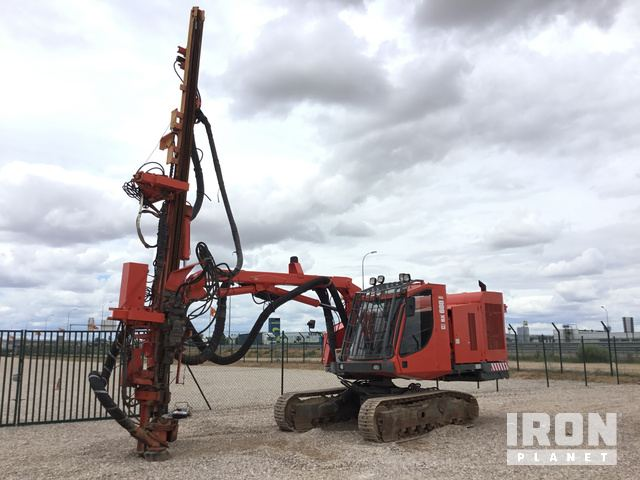 2012 Sandvik DX680 Crawler Mounted Blast Hole Drill in Ocana