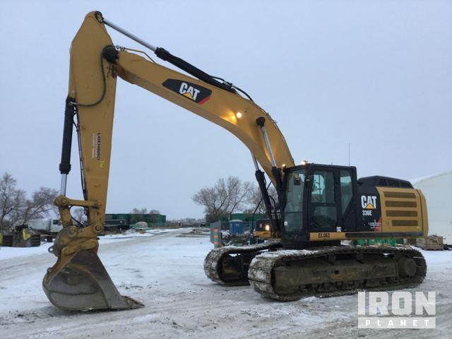 2014 cat 336el track excavator in epping north dakota united rh ironplanet com
