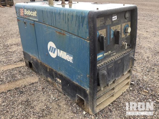 2009 Miller Bobcat 250 Engine Driven Welder in Silver City, New ...