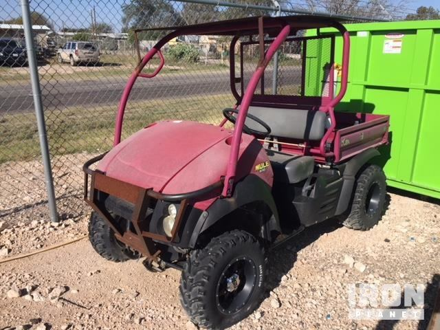 2006 Kawasaki Mule 610 4x4 Utility Vehicle In Monahans