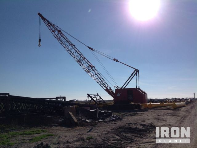 1991 Manitowoc 3900 Lattice-Boom Crawler Crane in Port Lavaca, Texas on