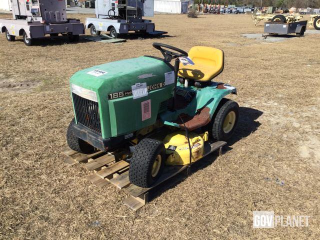 John Deere 185 Hydro Mower