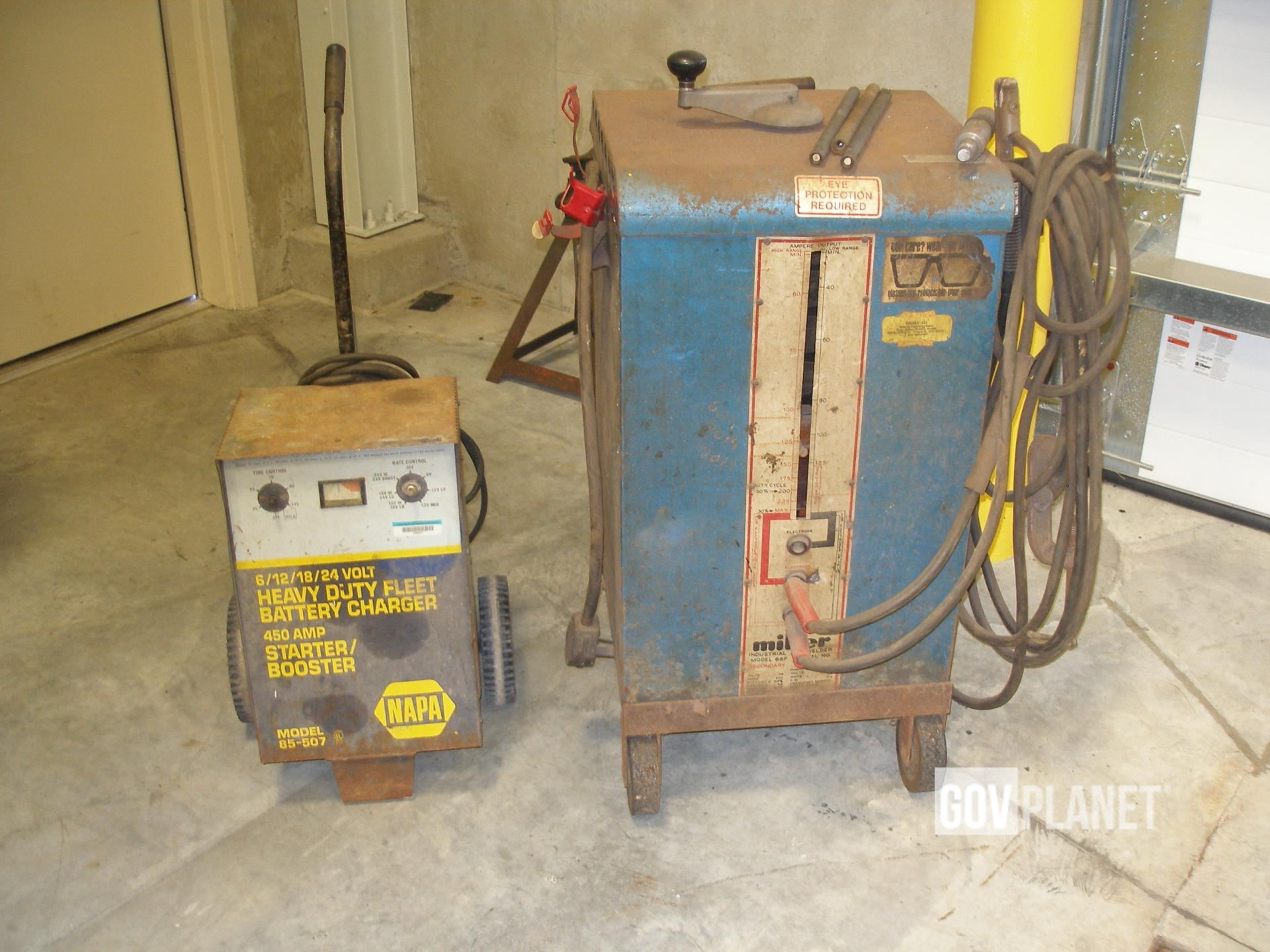 Miller 88P Stick Welder & Napa Battery Charger in Greenville ... on