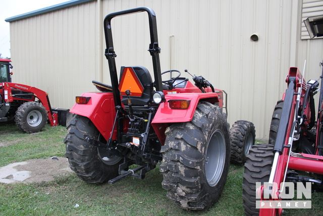 2017 (unverified) Mahindra 4540 4WD Tractor in Conroe, Texas