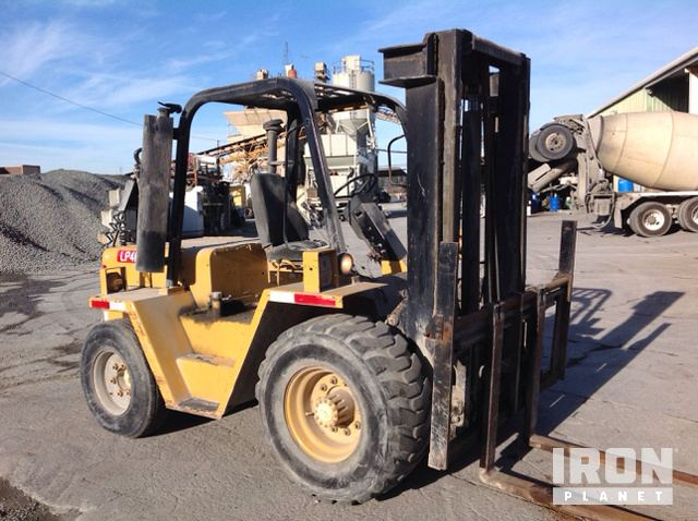 Cat RC60 Rough Terrain Forklift in Petaluma, California, United
