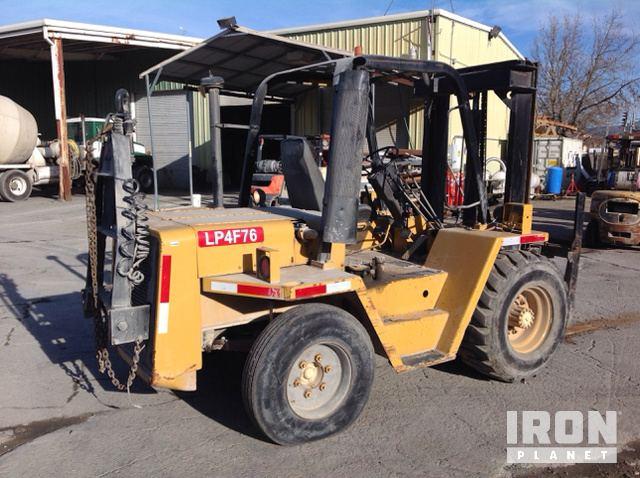 Cat RC60 Rough Terrain Forklift in Petaluma, California