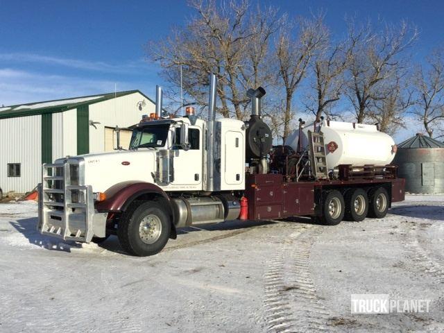 2013 Peterbilt 367 Tri/A Hot Oiler Truck in Brooks, Alberta, Canada