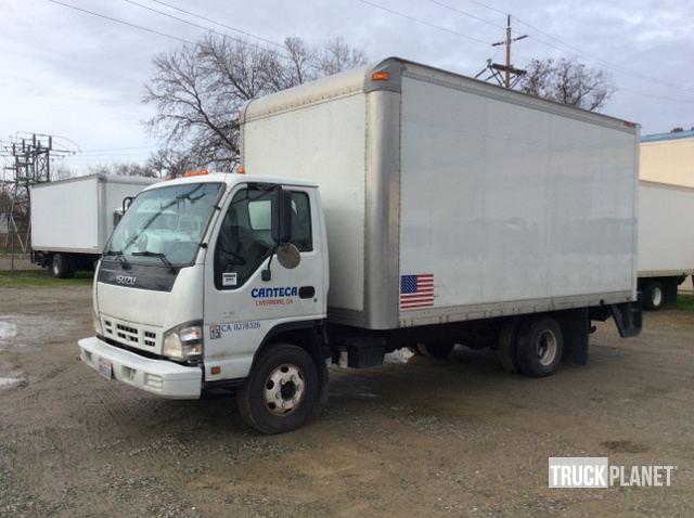 2007 Isuzu NPR Cargo Truck