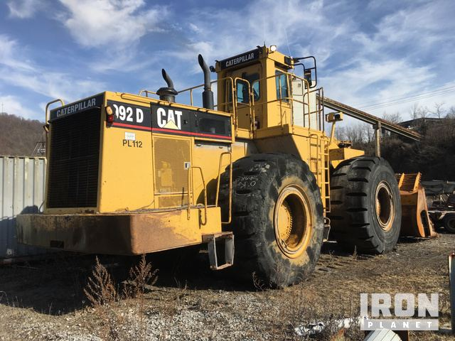 cat 992d wheel loader in roaring spring pennsylvania united states rh ironplanet com