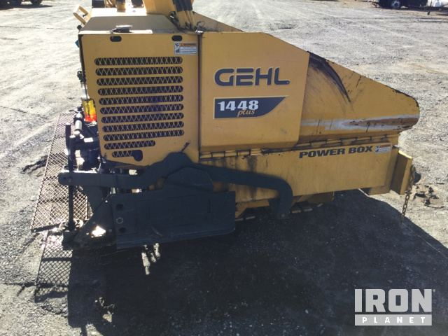 2014 Gehl 1448 Plus Asphalt Paver in Kings Mountain, North