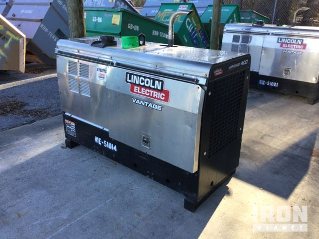 2015 Lincoln Electric Vantage 400 Engine Driven Welder in Saginaw ...