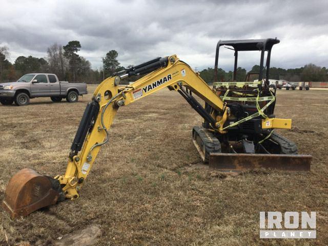 2016 Yanmar Vi035-6A Mini Excavator in Fayetteville, North
