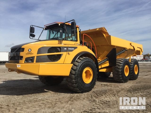 Volvo A40G Articulated Dump Truck in Davenport, Florida, United