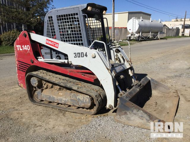 2006 Takeuchi TL140 Compact Track Loader in Milpitas, California
