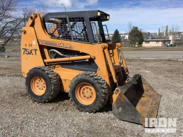 Case 75XT Skid-Steer Loader in Great Falls, Montana, United