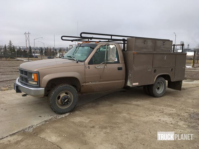 1996 Chevrolet 3500 4x4 S/A Utility Truck in Great Falls, Montana