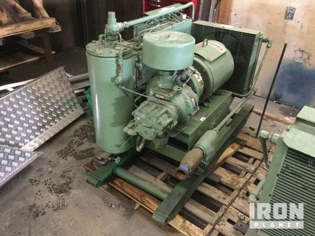 sullair 10b 25ac electric air compressor in prince george british rh ironplanet com Cat Wiring Diagrams Honda Wiring Diagram