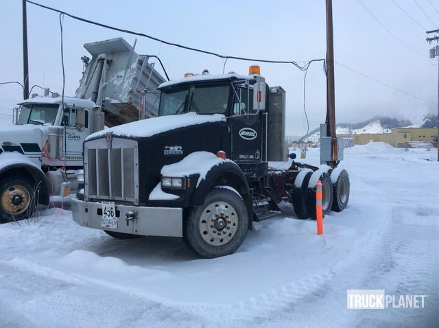 1991 Kenworth T800 T/A Day Cab Truck Tractor in Prince