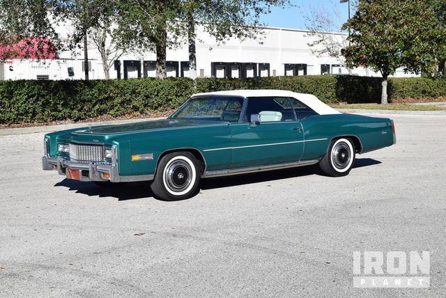1976 Cadillac Eldorado Convertible in Lakewood Ranch, Florida