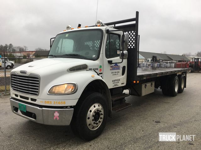 2007 Freightliner M2 106 T/A Flatbed Truck in West Chester