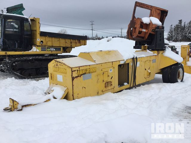 CSI IDT 2800 Pull-Through Delimber in Deer Lake