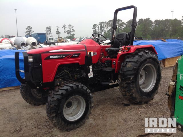 2017 (unverified) Mahindra 4540 4WD Tractor in Humble, Texas