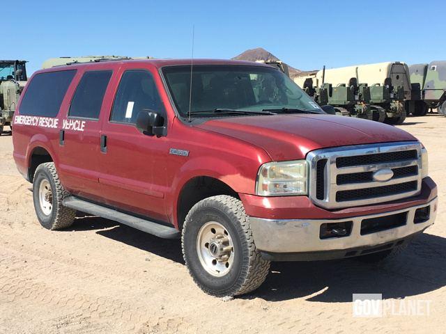 Surplus 2005 Ford Excursion Xlt 4x4 Suv In Yermo California United