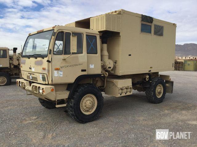 Surplus 1998 BAE Systems M1079 LMTV 4x4 Van Truck in El Paso, Texas