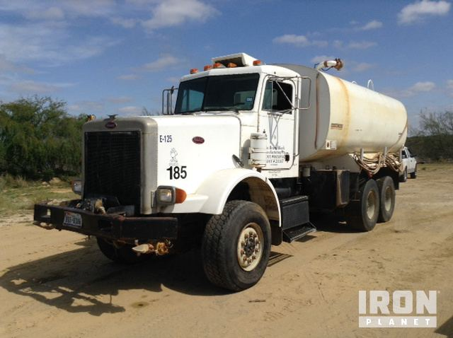 1991 peterbilt 357 6x6 t a water truck in laredo texas united states truckplanet item 1308262. Black Bedroom Furniture Sets. Home Design Ideas